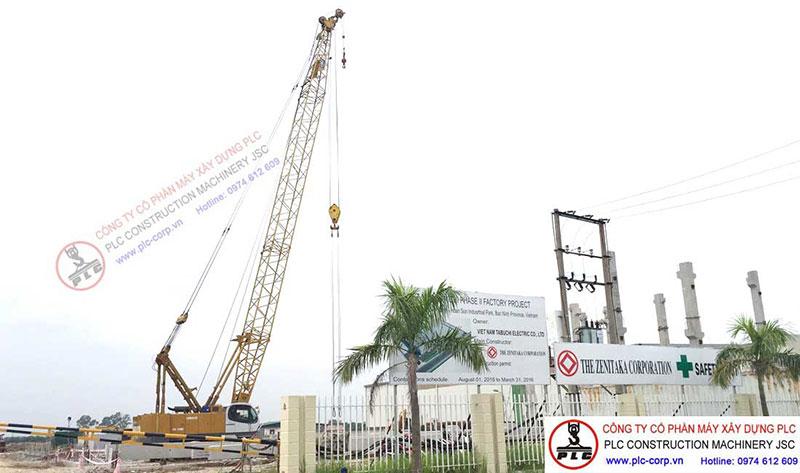 Kobelco CK1000 100 Ton Crawler Cranes For Rent In Vietnam