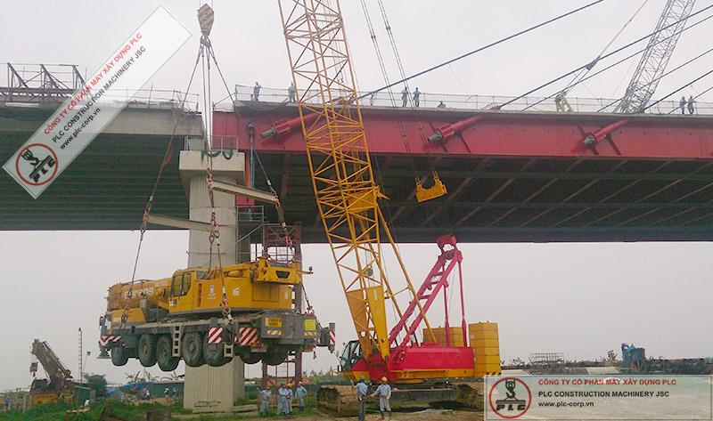 250 Ton Crawler Cranes Rental In Vietnam