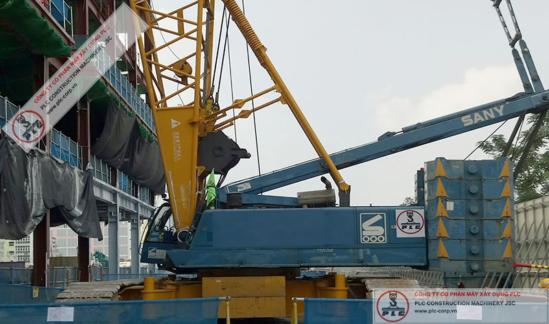 Sany SCC2000 Crawler Cranes Rental In Vietnam
