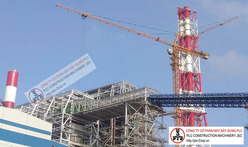 SCM C6024 Tower Cranes Rental In Vietnam
