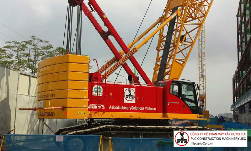 Crawler Cranes Rental In Vietnam