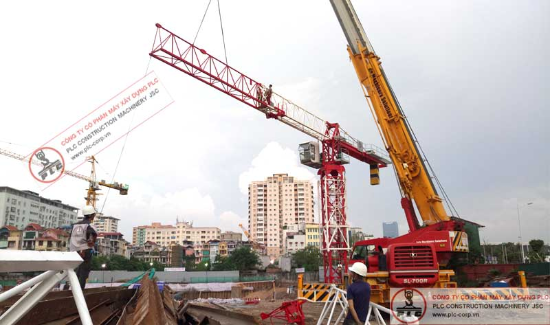 Motocat MPM6015 Tower Cranes Rental In Vietnam