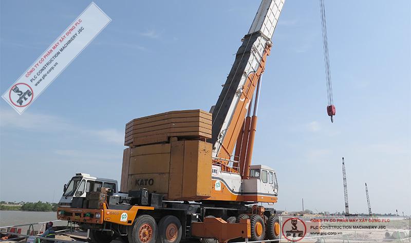 Kato NK-5000 Mobile Cranes Rental In Vietnam