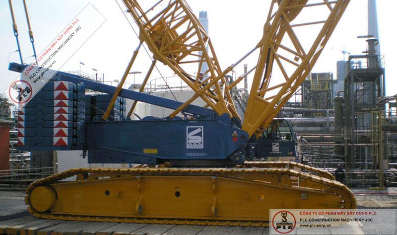 Demag CC2800-1 Crawler Cranes Rental In Vietnam