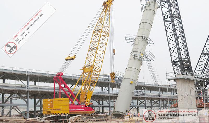 IHI CCH2500-6 Crawler Cranes Rental In Vietnam
