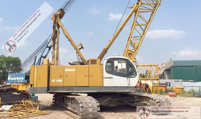 Kobelco CK1000 Crawler Crane Rental In Vietnam