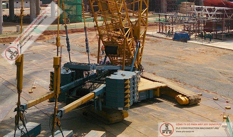 Liebherr LR1400/2 Crawler Cranes Rental In Vietnam