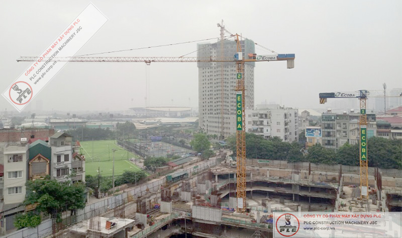 SCM C5015 Tower Cranes Rental In Vietnam