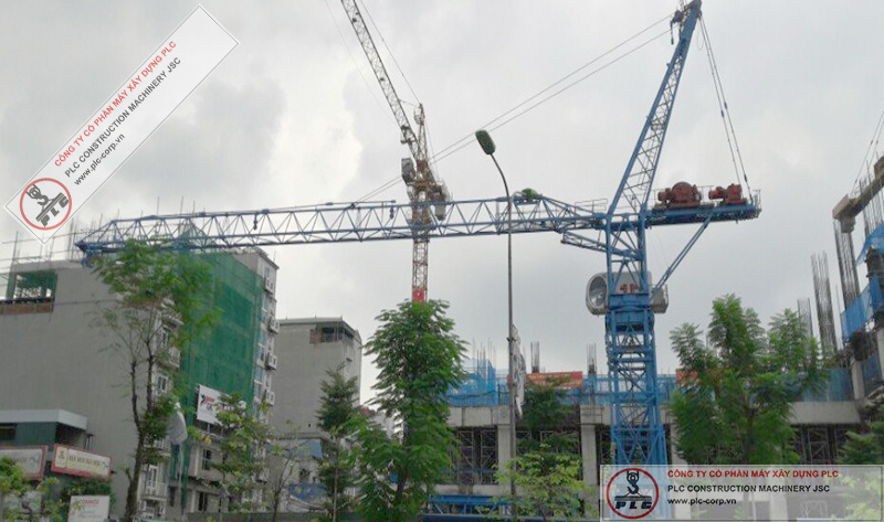 32 Ton Tower Cranes Rental In Vietnam