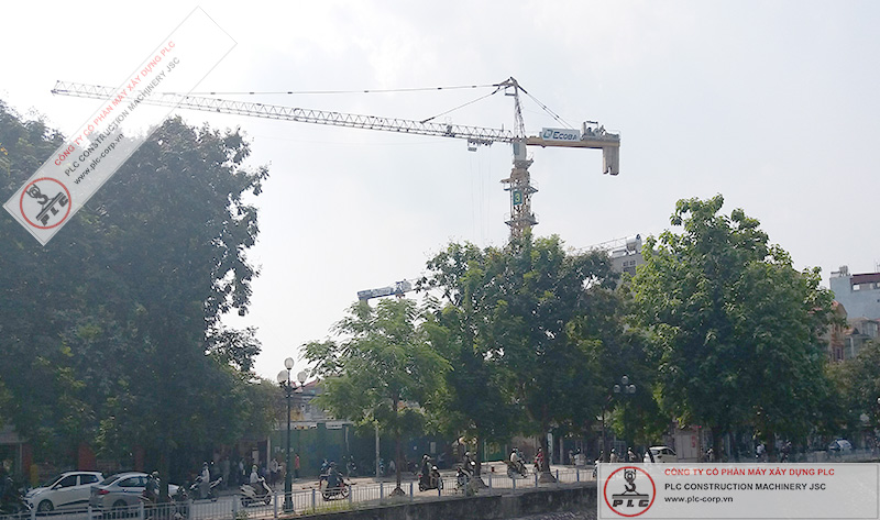SCM C6018 Tower Cranes Rental In Vietnam