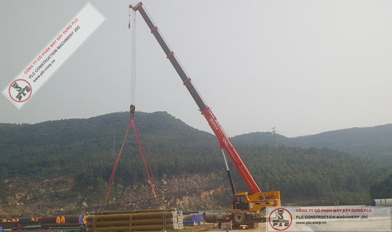 Sany STC500 Mobile Cranes Rental In Vietnam