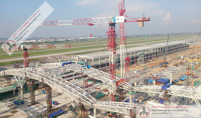 Top Sky TT6520-12 Tower Cranes Rental In Vietnam