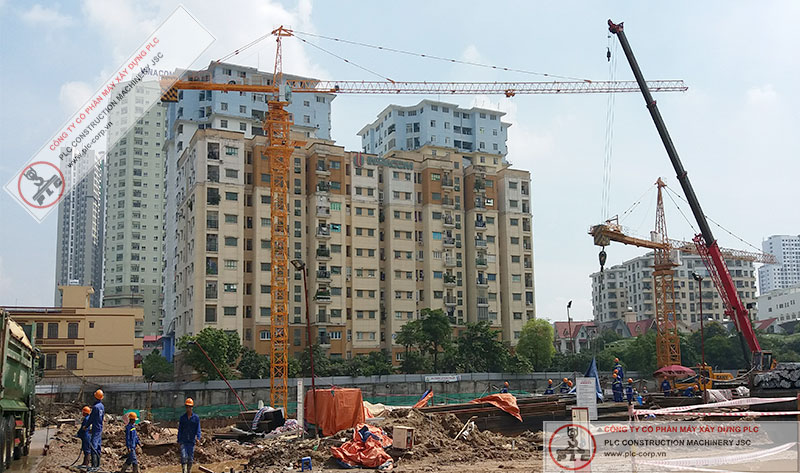 Zoomlion TC7030 Tower Cranes Rental In Vietnam