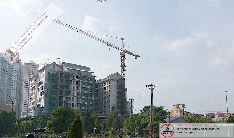 Zoomlion 7055 Tower Cranes Rental In Vietnam