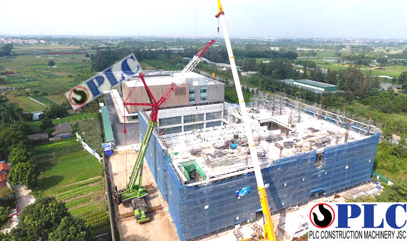 300 Ton Mobile Cranes For Rent In Vietnam