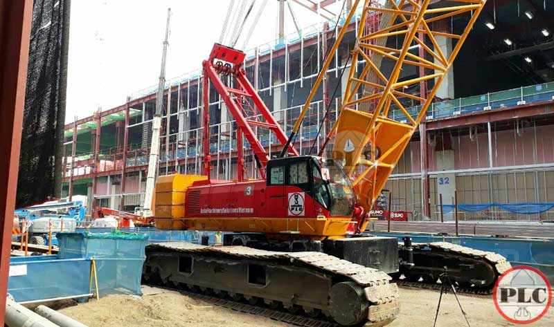 200 Ton Crawler Crane Rental Services In Vietnam