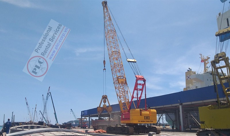 100 Ton Crawler Crane Rental Services In Vietnam