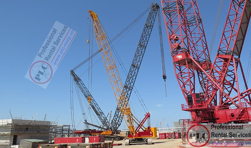 Crawler Crane Rental Services In Vung Tau