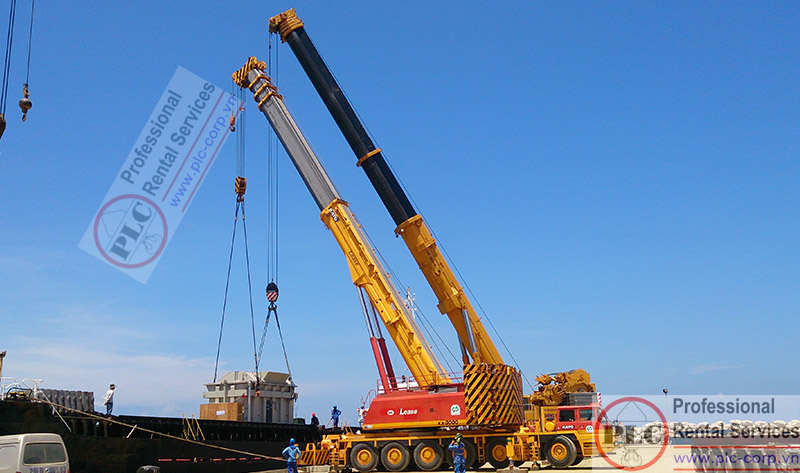 Mobile Crane Rental Services In Vietnam