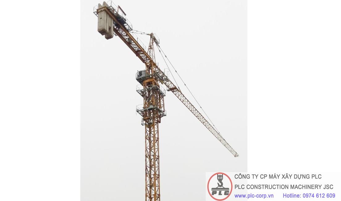 Cho thuê cẩu tháp 10 tấn SCM C6018