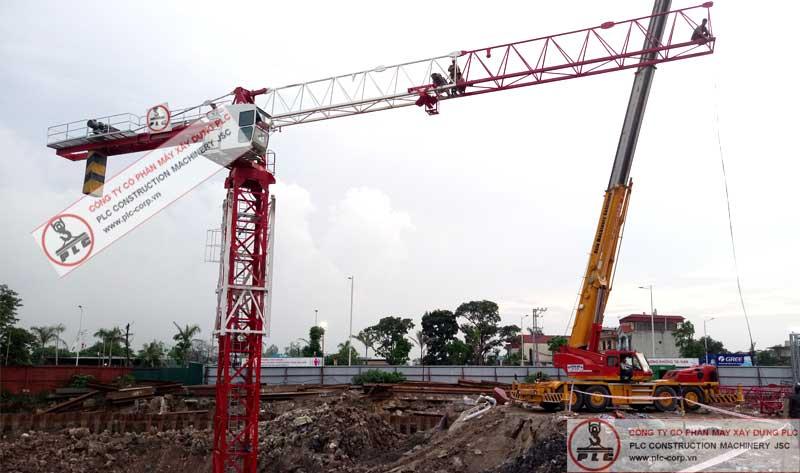 Cho thuê cẩu tháp 8 tấn PLC uy tín chuyên nghiệp