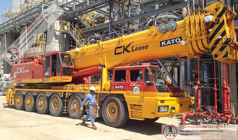 Cho Thuê Cẩu Lốp Kato KA-3000