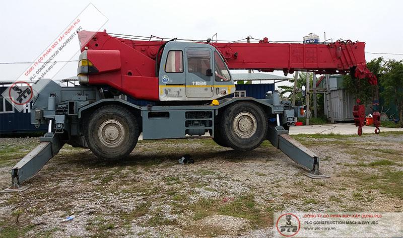 Cho Thuê Cẩu Lốp Kobelco RK350-2