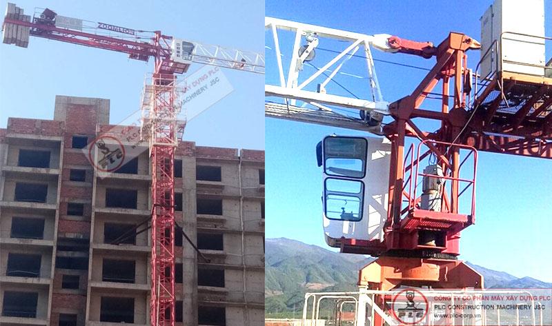 Cho thuê cẩu tháp 4 tấn ZOOMLION