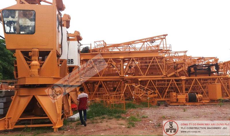 Cho thuê cẩu tháp LIEBHERR 12 tấn