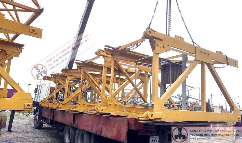 Cho thuê đốt cẩu tháp 10 tấn SCM tại Hà Nội