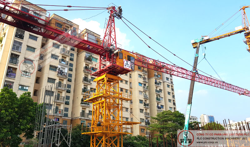Cho Thue Cau Thap Sany 8t PLC