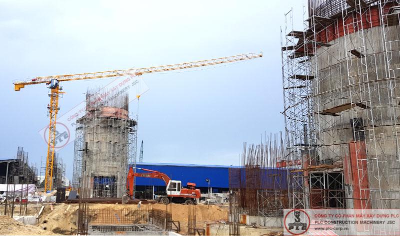 Cho thuê cẩu tháp 25 tấn chuyên nghiệp