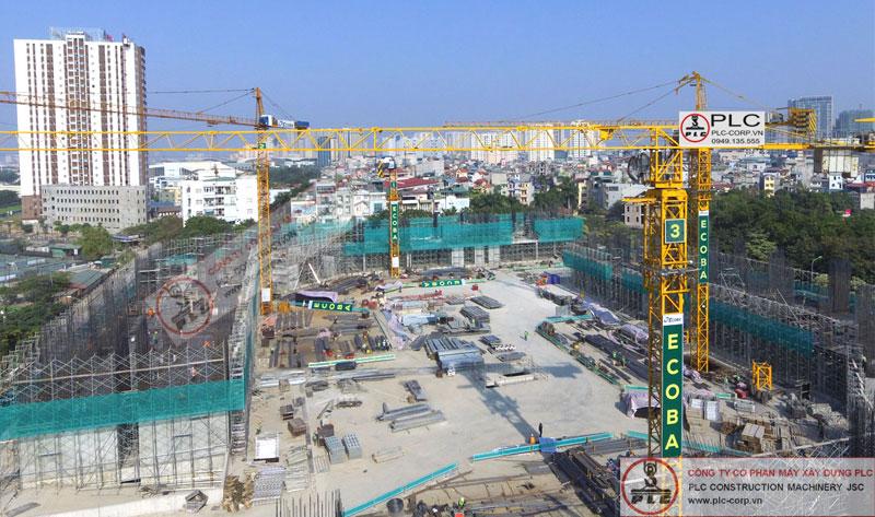 Cho thuê cẩu tháp tại Hà Nội, Việt Nam