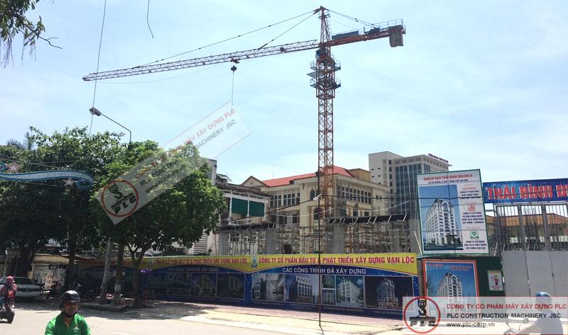Cho thuê cẩu tháp tại Thái Bình chuyên nghiệp