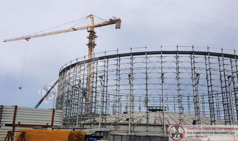 Cho thuê cẩu tháp phục vụ xây dựng, dự án, dân dụng, cầu đường