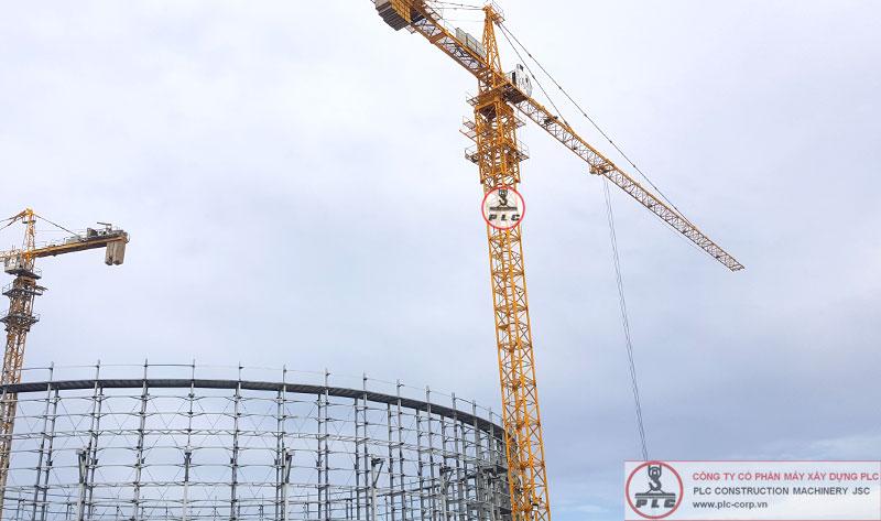 Bán cẩu tháp 10 tấn QTZ125 TC6015