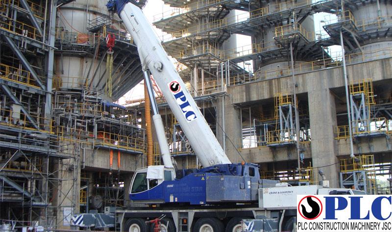 Crane rental 220 tons